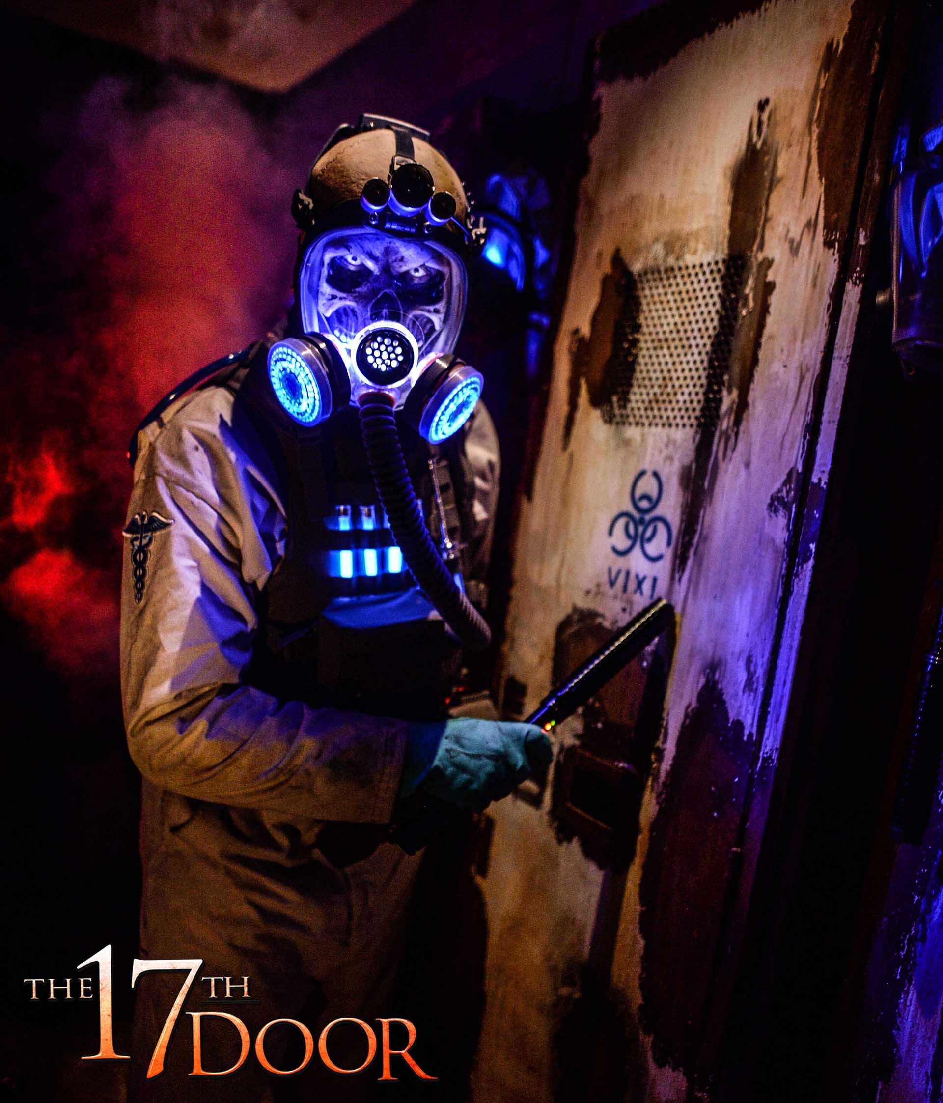 The 17th Door once again brings back a plethora of squeamish scares, from old and infamous tricks to new gags that will shock and astound.  (Photo courtesy of The 17th Door.)
