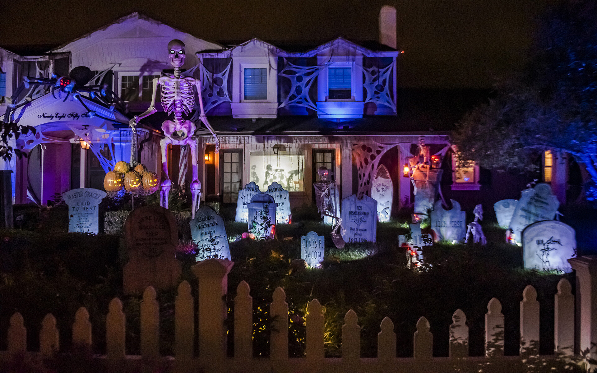 Christmas Lights Near Orange County 2020 Orange County Yard Haunts 2020: Bayou By You, Haunted Mansion