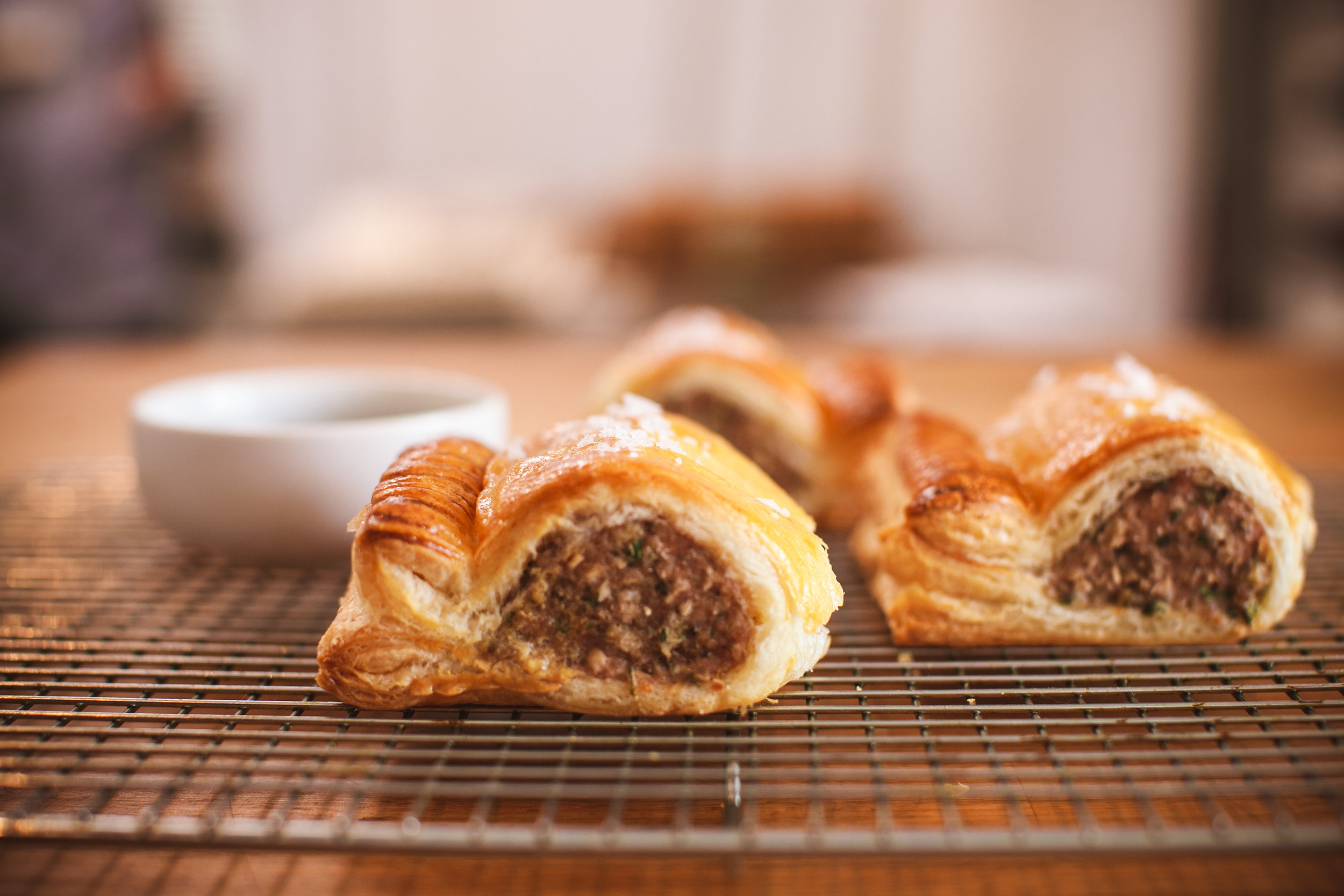 Our Sausage Rolls.