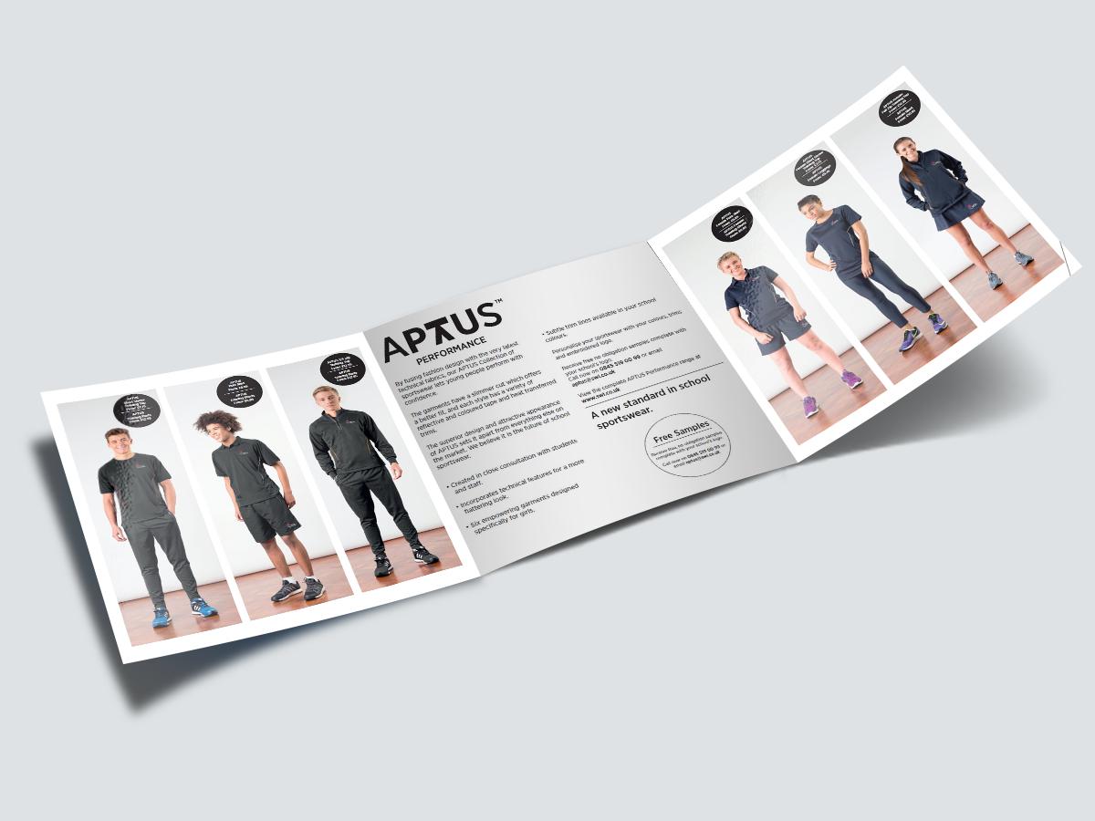 APTUS Performance Trifold Flyer 2016