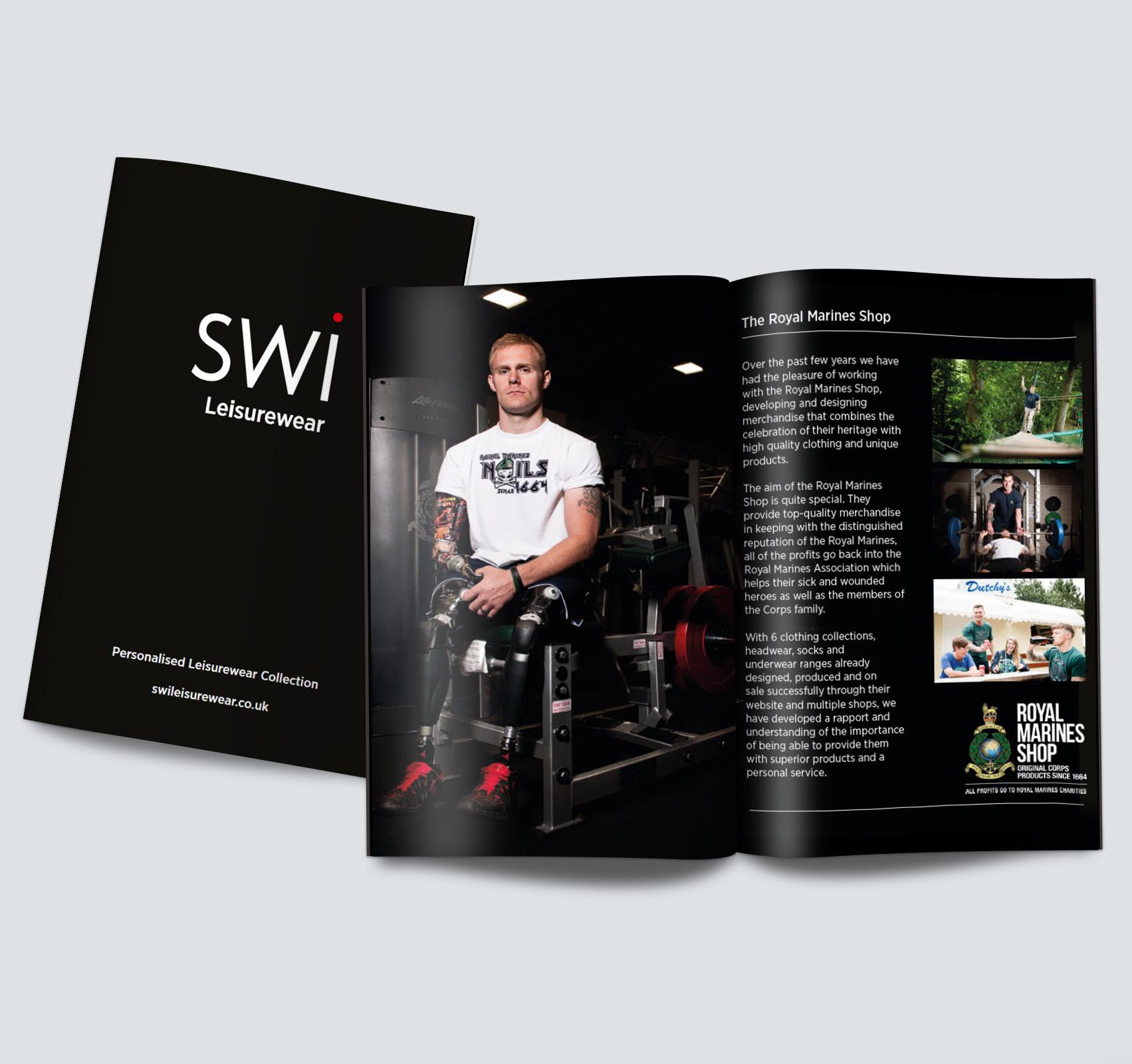 SWI Leisurewear Mini Brochure 2015