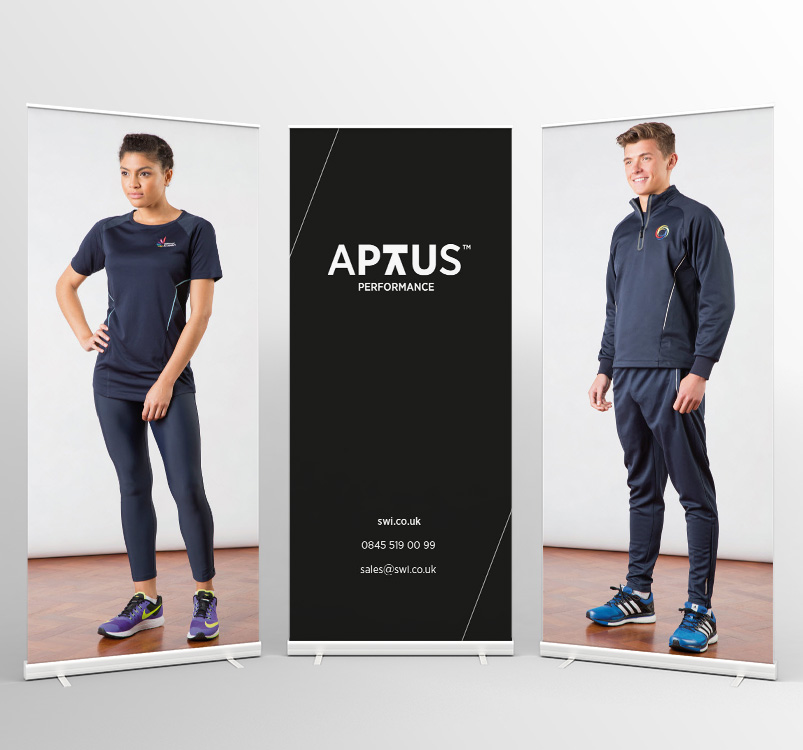 APTUS Performance Pull Up Banners