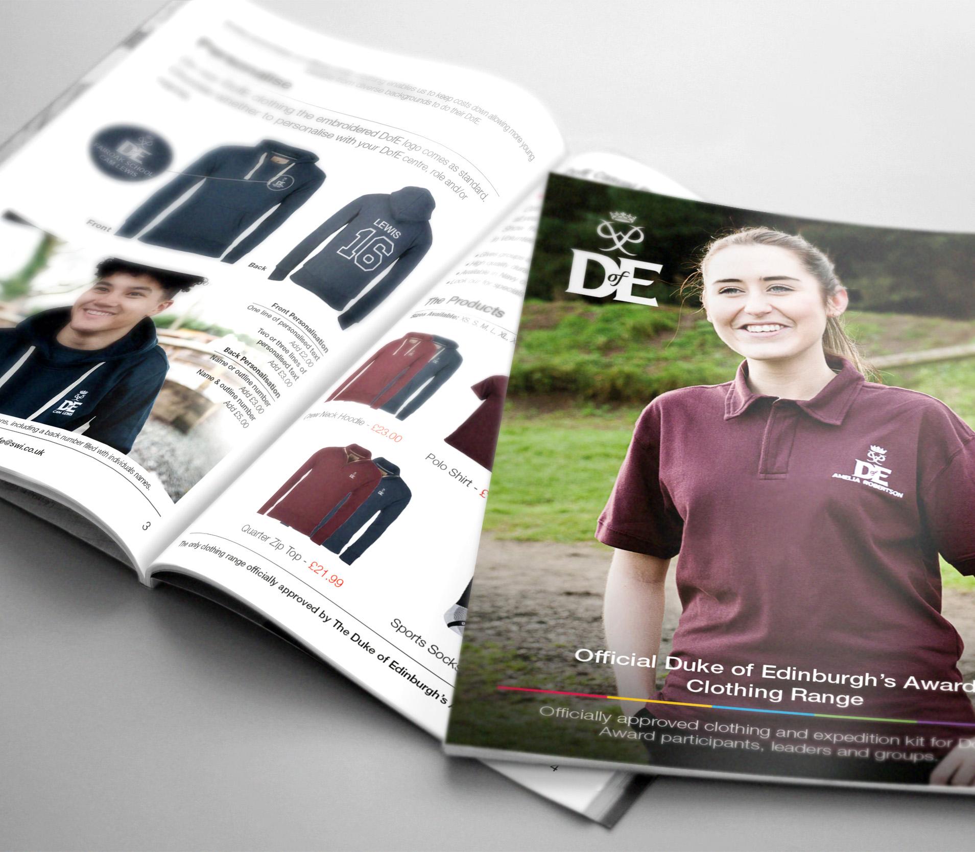 Duke of Edinburgh's Award Clothing Brochure
