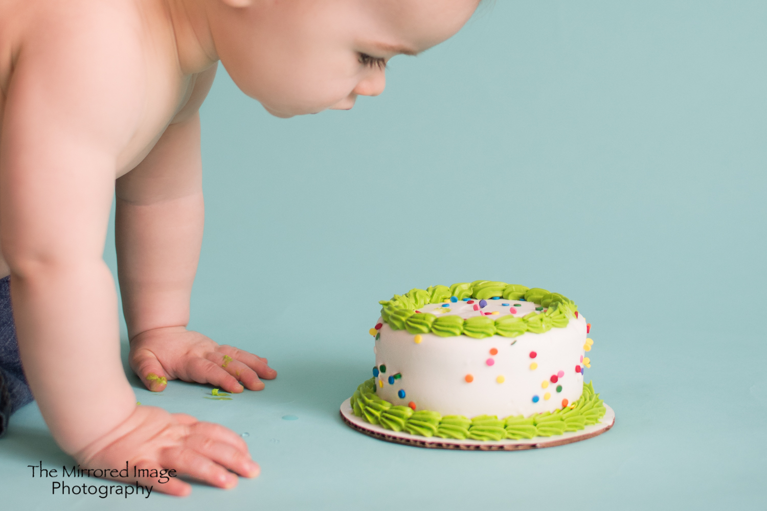 What is this? First birthday cake session