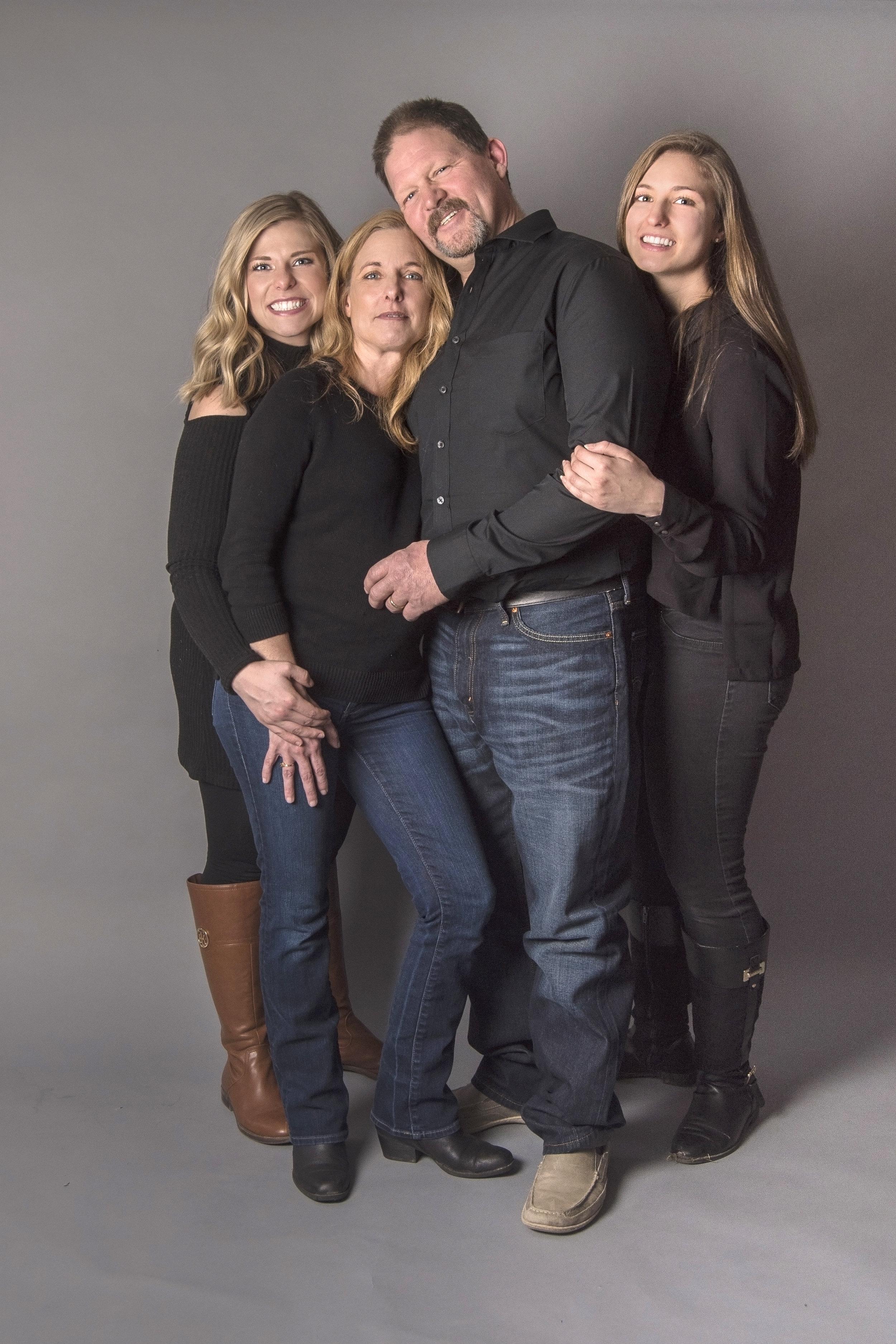 Indoor Family Photo