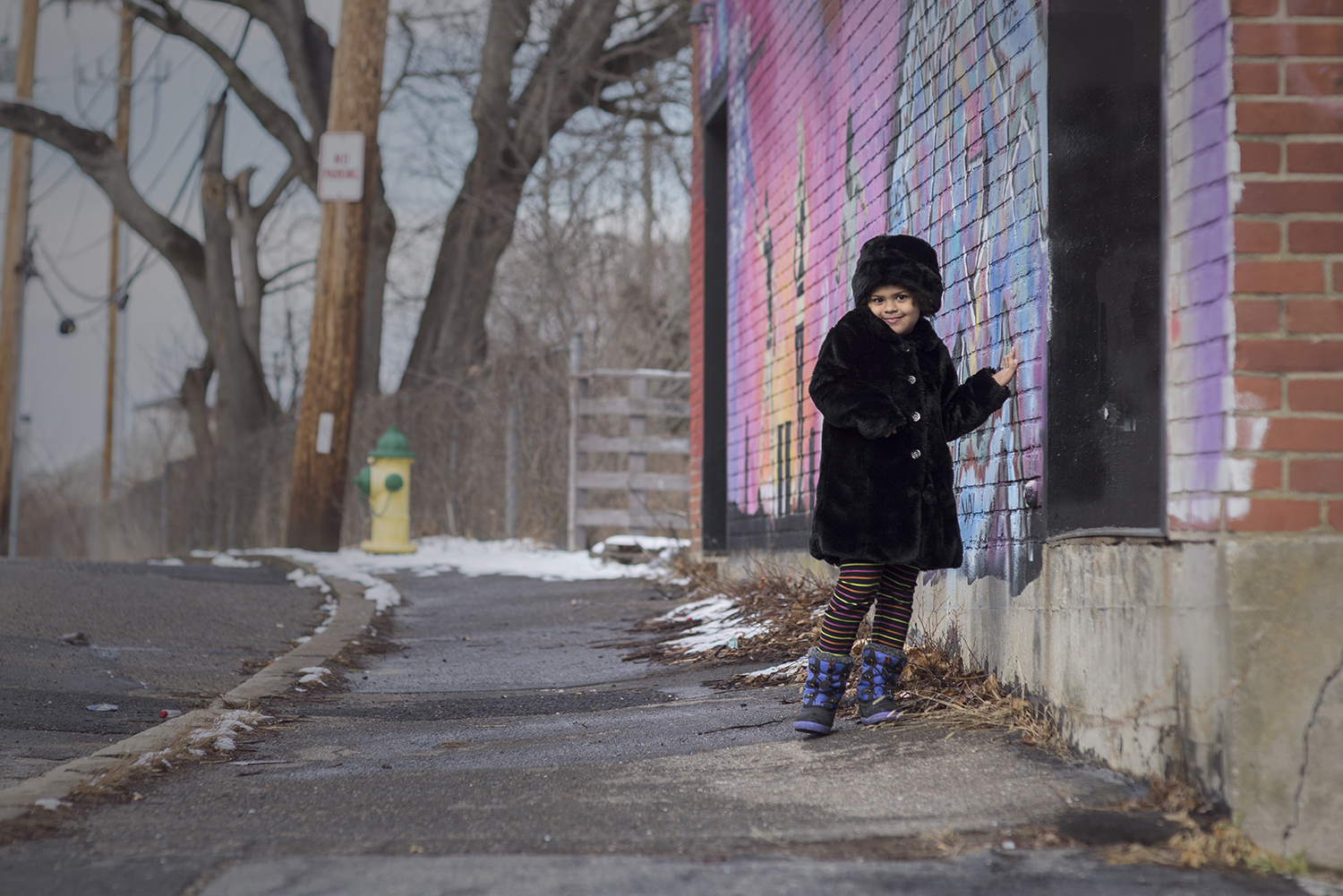 Winter Street Photography! Let it snow!