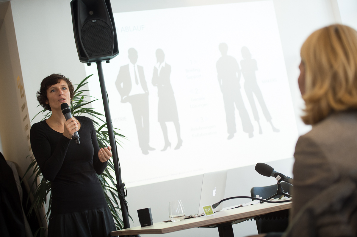 Sandra Stromberger, Initiatorin von Industry meets Makers