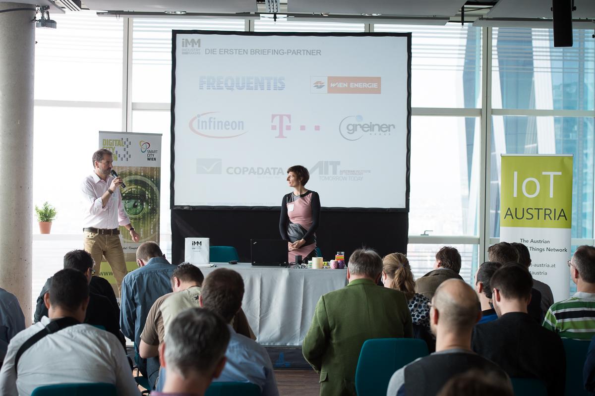 Vorstellung der ersten Industry meets Makers-Briefing-Partner