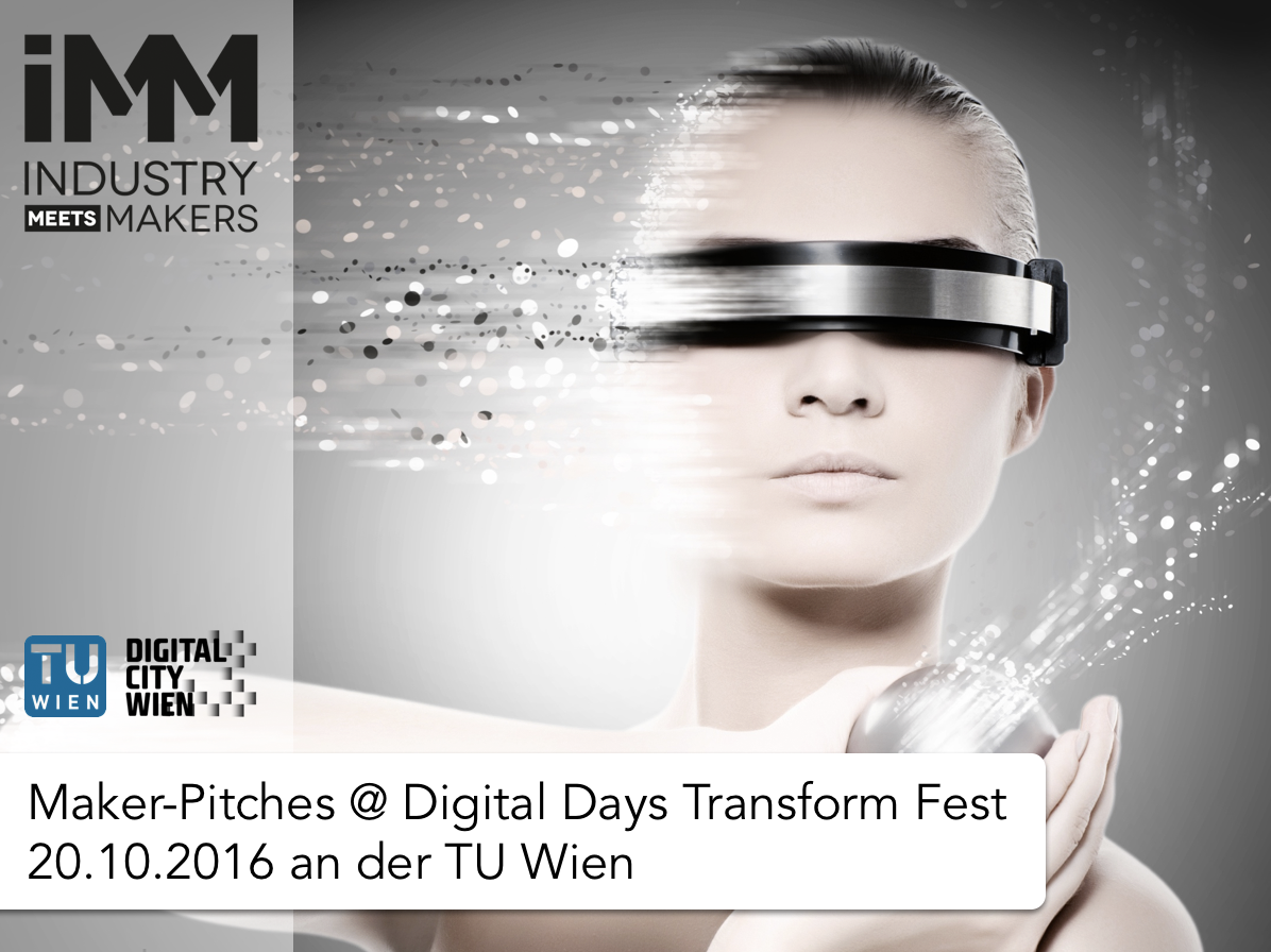 Maker-Pitches Digital Days Transform Fest