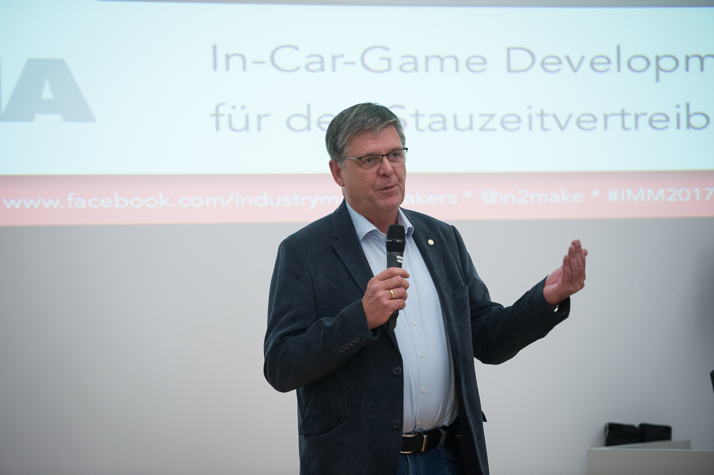 Briefing: In-car Game Development