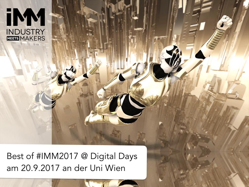 Best of Industry meets Makers 2017