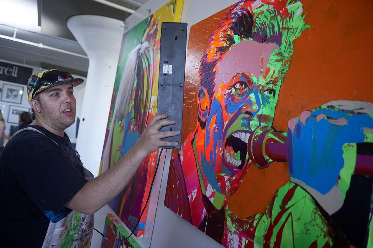 2016 Art-A-Whirl  Minneapolis, MN.