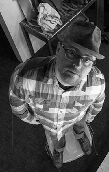 Scott West in studio