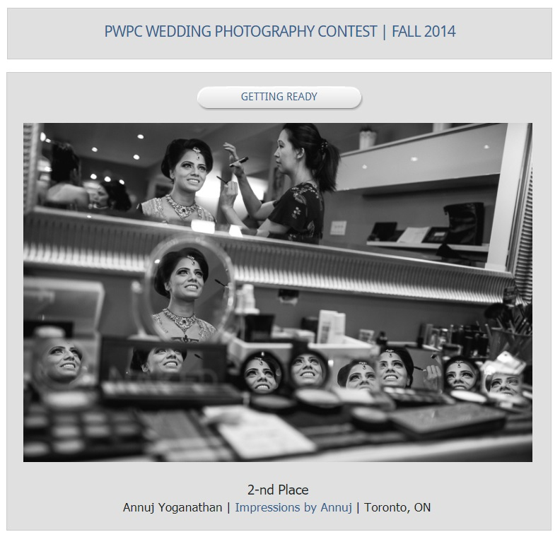 PWPC - Fall 2014 - Getting Ready - 2nd Place.jpg
