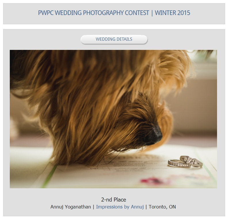 PWPC - Winter 2015 - Wedding Details - 2nd Place.jpg