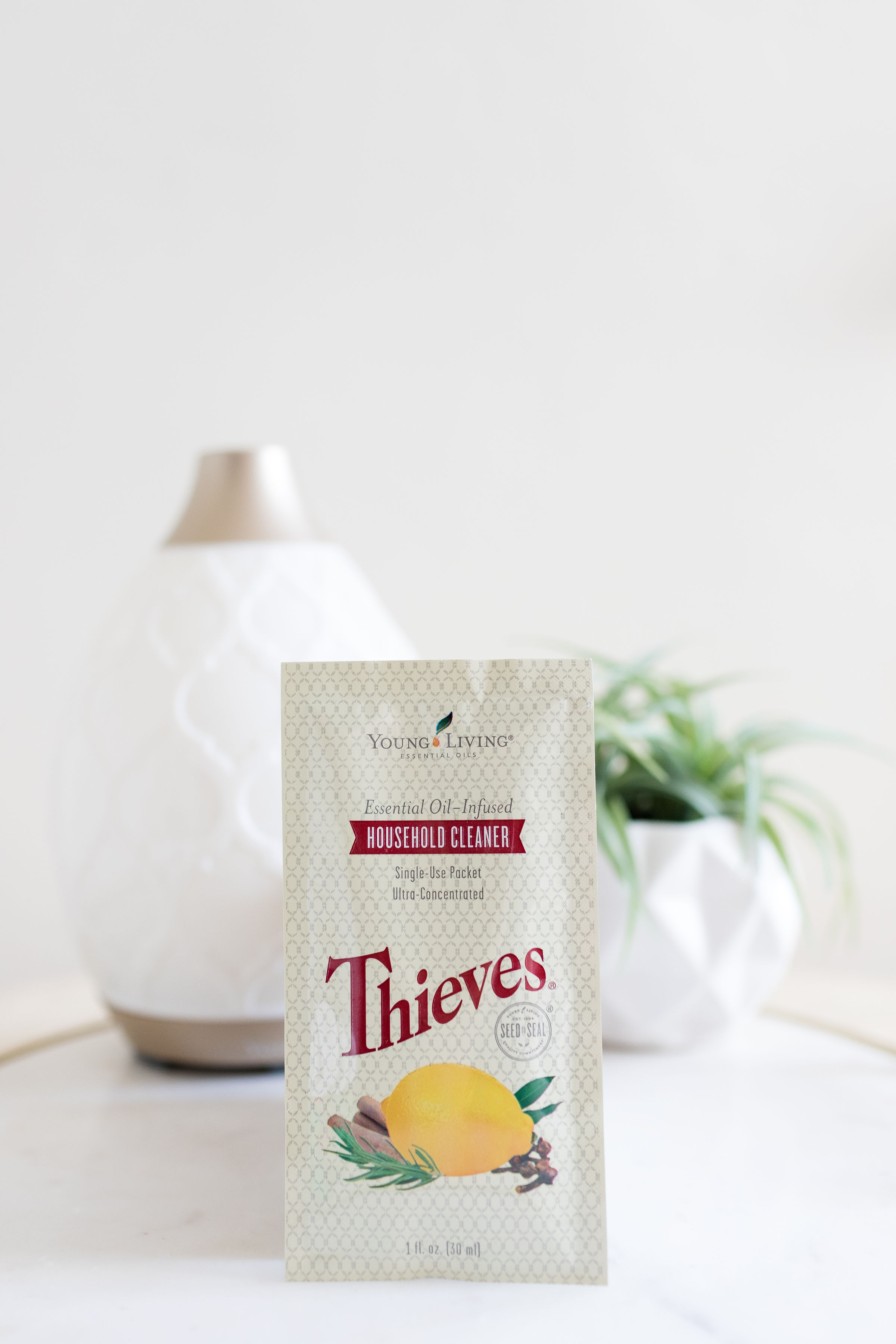 thieves cleaner - + the best plant-based, safe cleaner on the market!+ 100% free of any toxic chemicals and safe for your kids+ Smells like the holidays+ the only cleaner you need…safely cleans all surfaces.+ approx price per 16 oz bottle is $1.30 per bottle! winner.+ You'll pour this packet into a 16 oz spray bottle, top with water, and that's it!