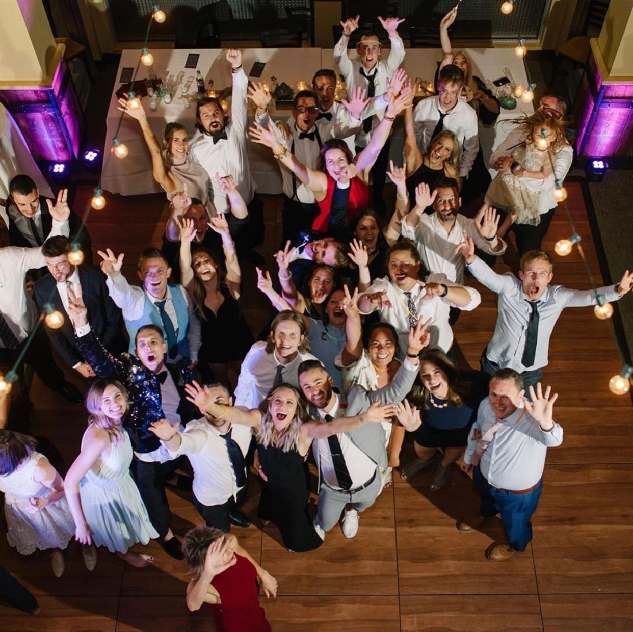 Amazing Wedding Crowd