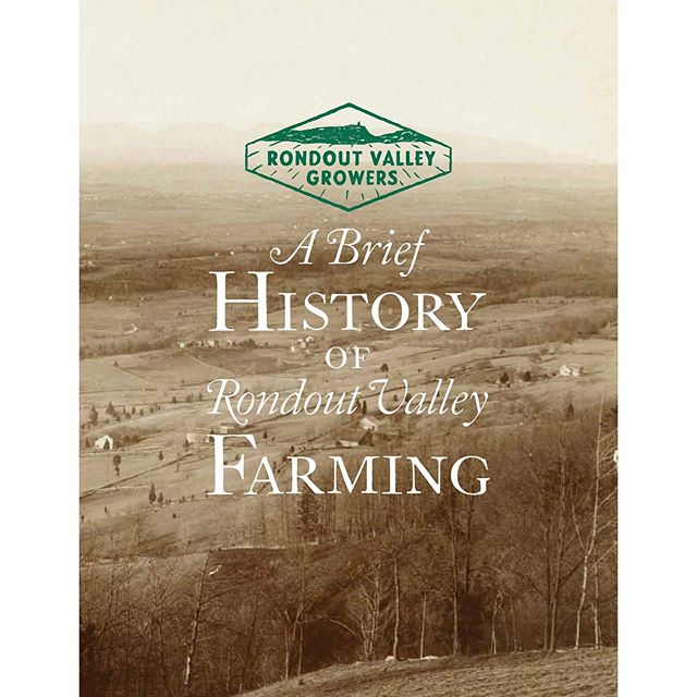 "Book design for RVGA's ""A Brief History of Rondout Valley Farming"". @rondoutvalleygrowers . . . . . . #graphicdesign #logodesign #bookdesign #identitysystems #reportdesign #posterdesign #magazinedesign #patterndesign #design #womanownedbusiness #girlboss #typography #illustration #books #businesscard #lettering #script #business #ulstercountyny #hudsonvalley #hudsonvalleydesigner #hudsonvalleycreative #scholastic #stoneridge #motherdaughter"