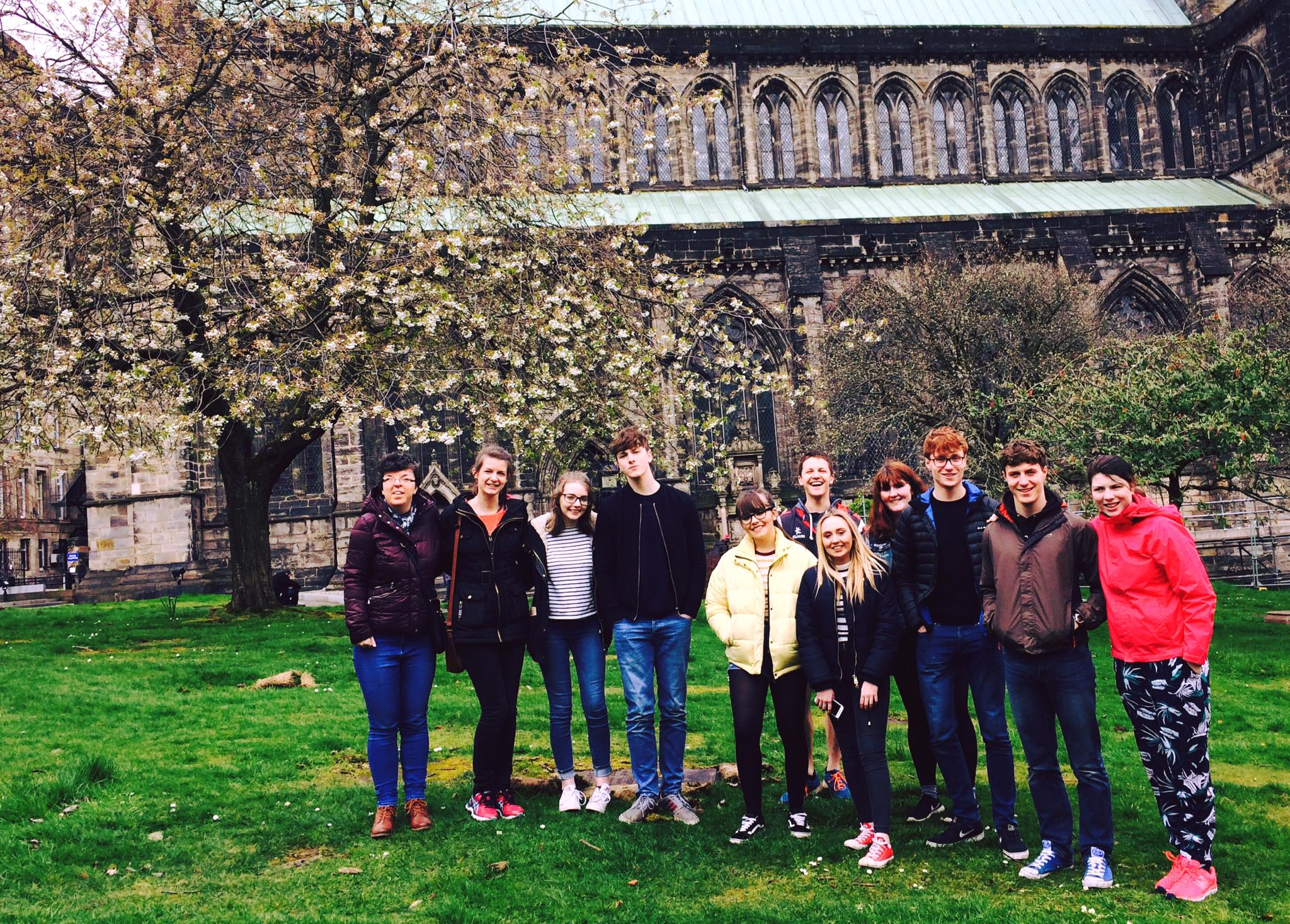 The team, along with some of Airdrie CY on a Reformation Tour