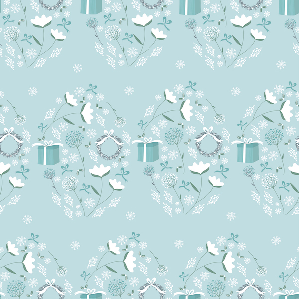 9-Christmas flower pattern square-VFrustaci.jpg