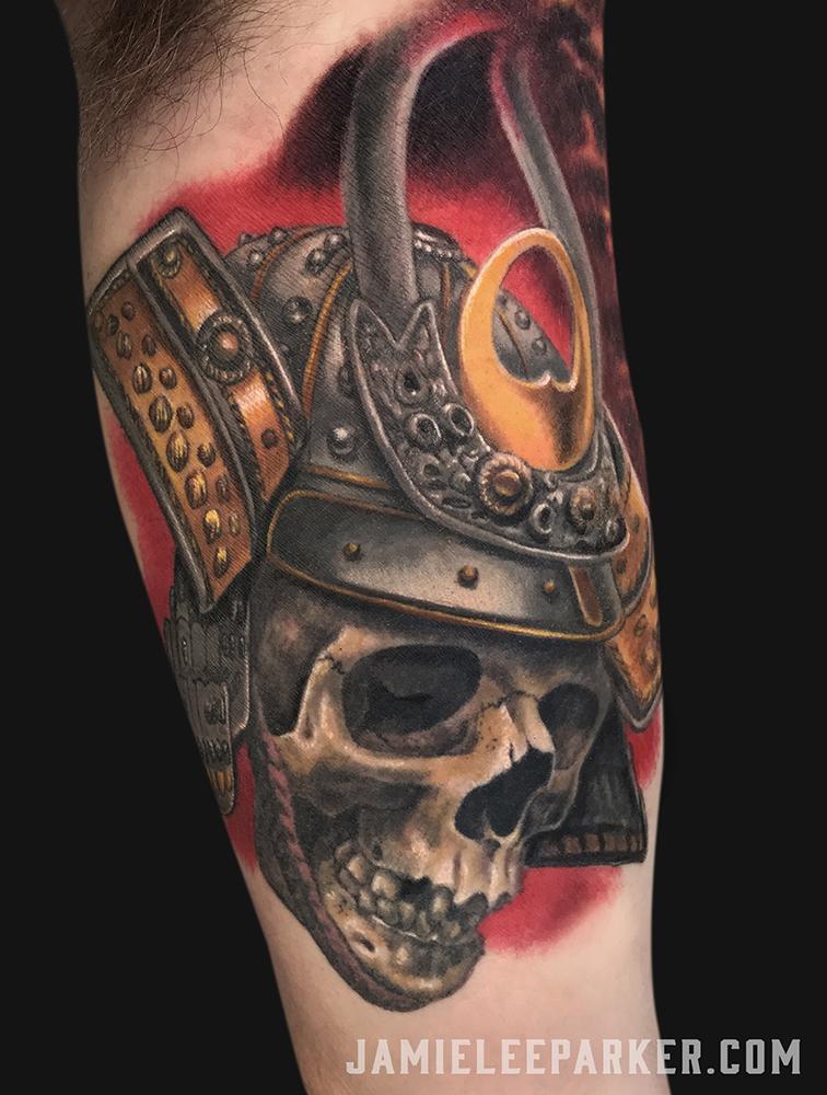 Samurai Skull