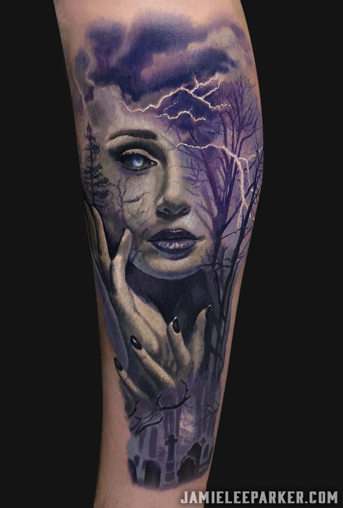 Dark Nature Woman