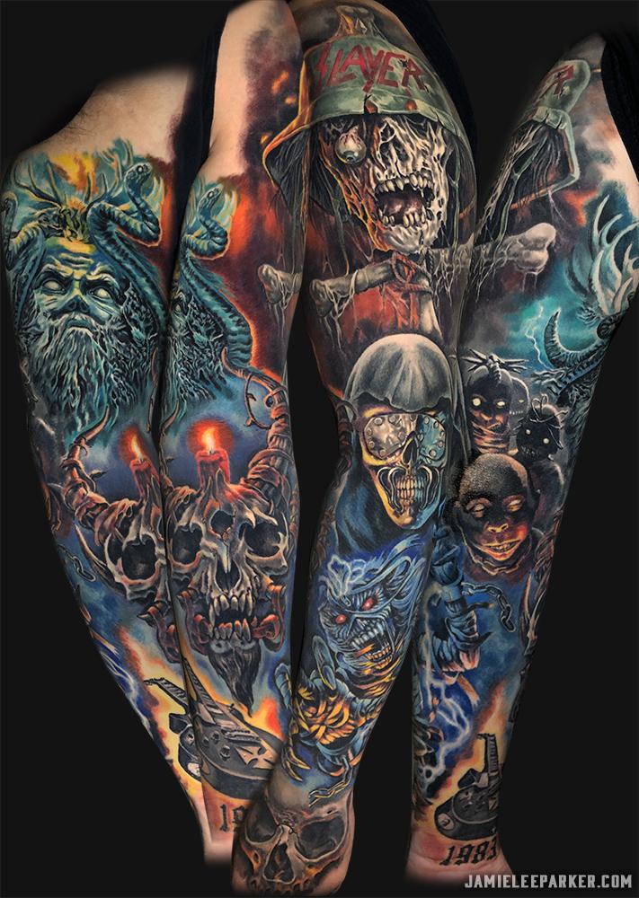 Heavy Metal Sleeve