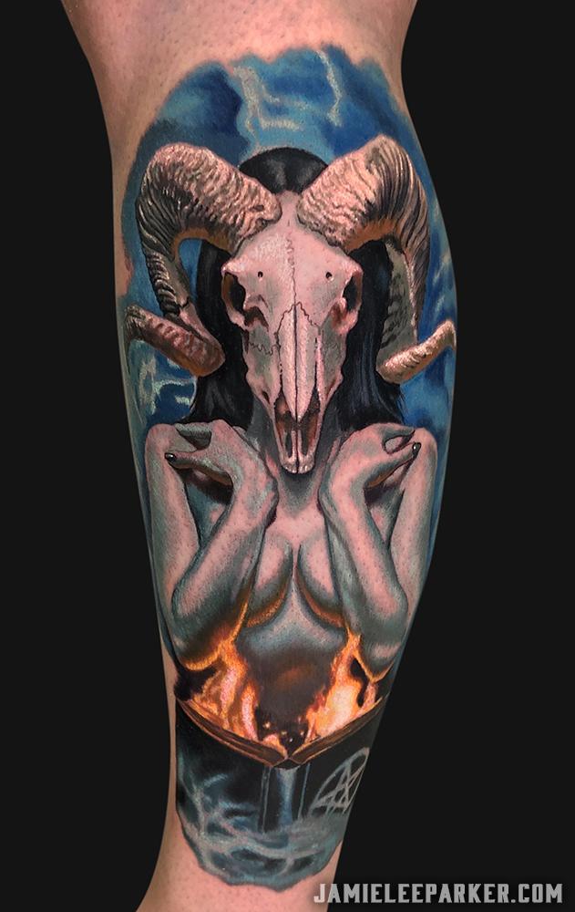 Ram Skull Demon