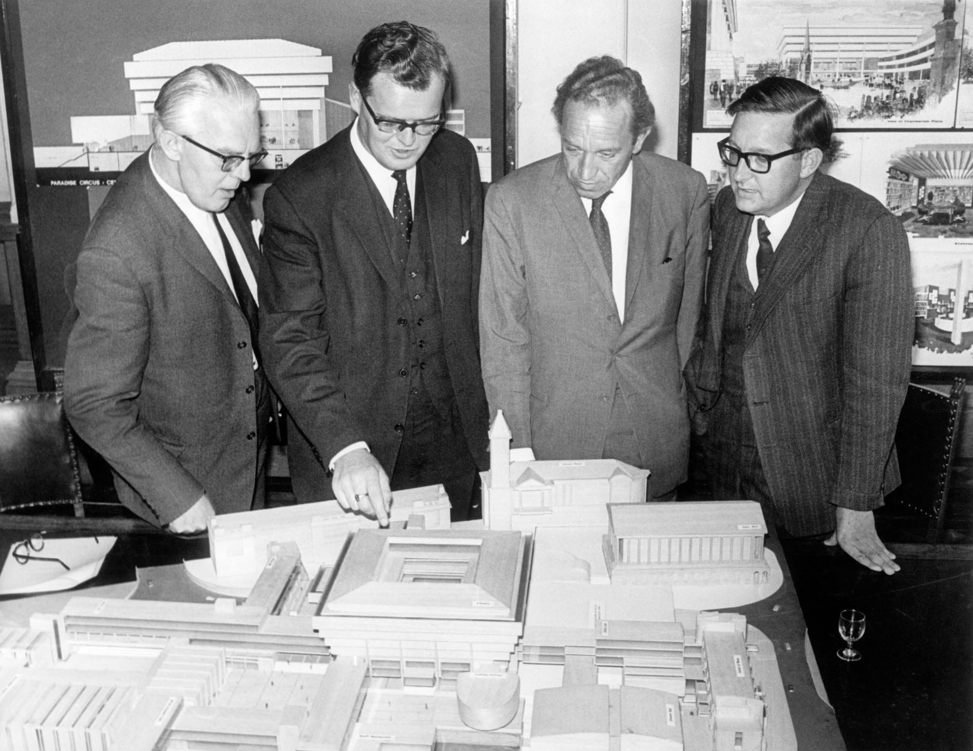 councillors & library model.jpg