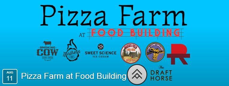 Our second Pizza Farm at   FOOD BUILDING  in Northeast Minneapolis is back on Thursday, August 11th from 4:00pm-9:00pm.    Northern Fires Pizza  will be providing even more wood-fired pizzas; this time made with ingredients from ALL THREE of our makers!  Baker's Field Flour & Bread  stone-milled flour will be used for dough,  Red Table Meat Co.  salumi and   The Lone Grazer Creamery  mozzarella and fresh ricotta will be used for toppings.    For our second Pizza Farm music will be provided by George Scot Mckelvey!