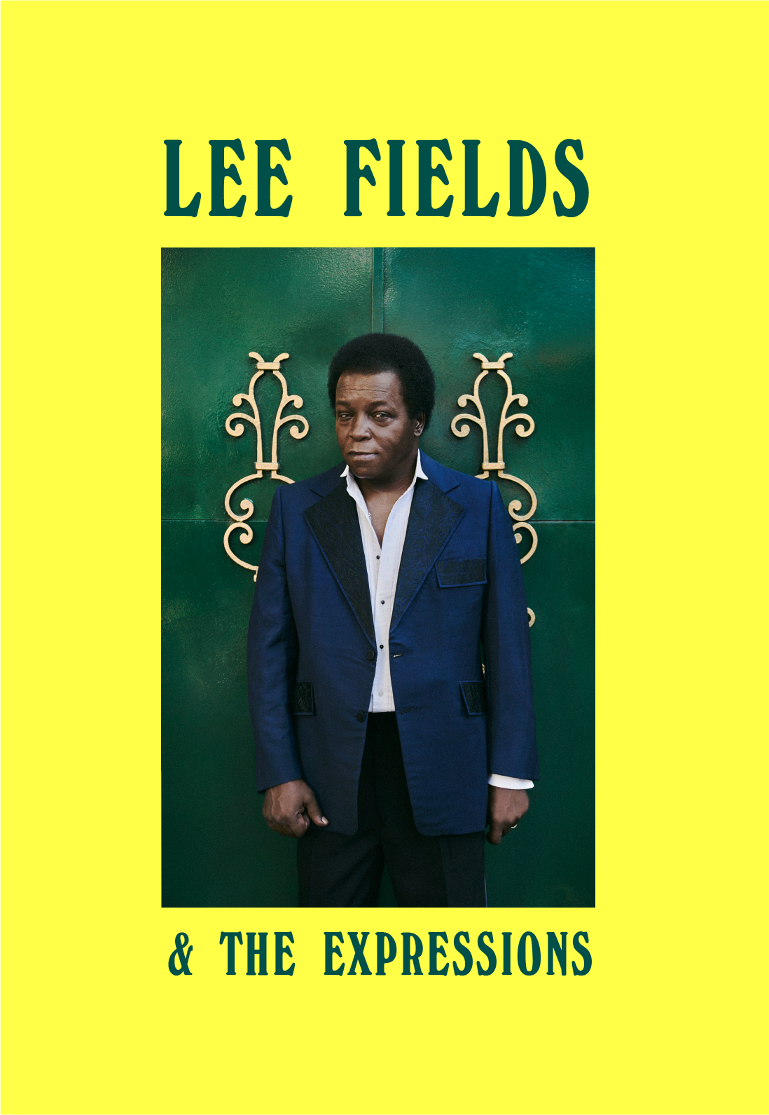 Poster for Lee Fields, Summer Tour 2017