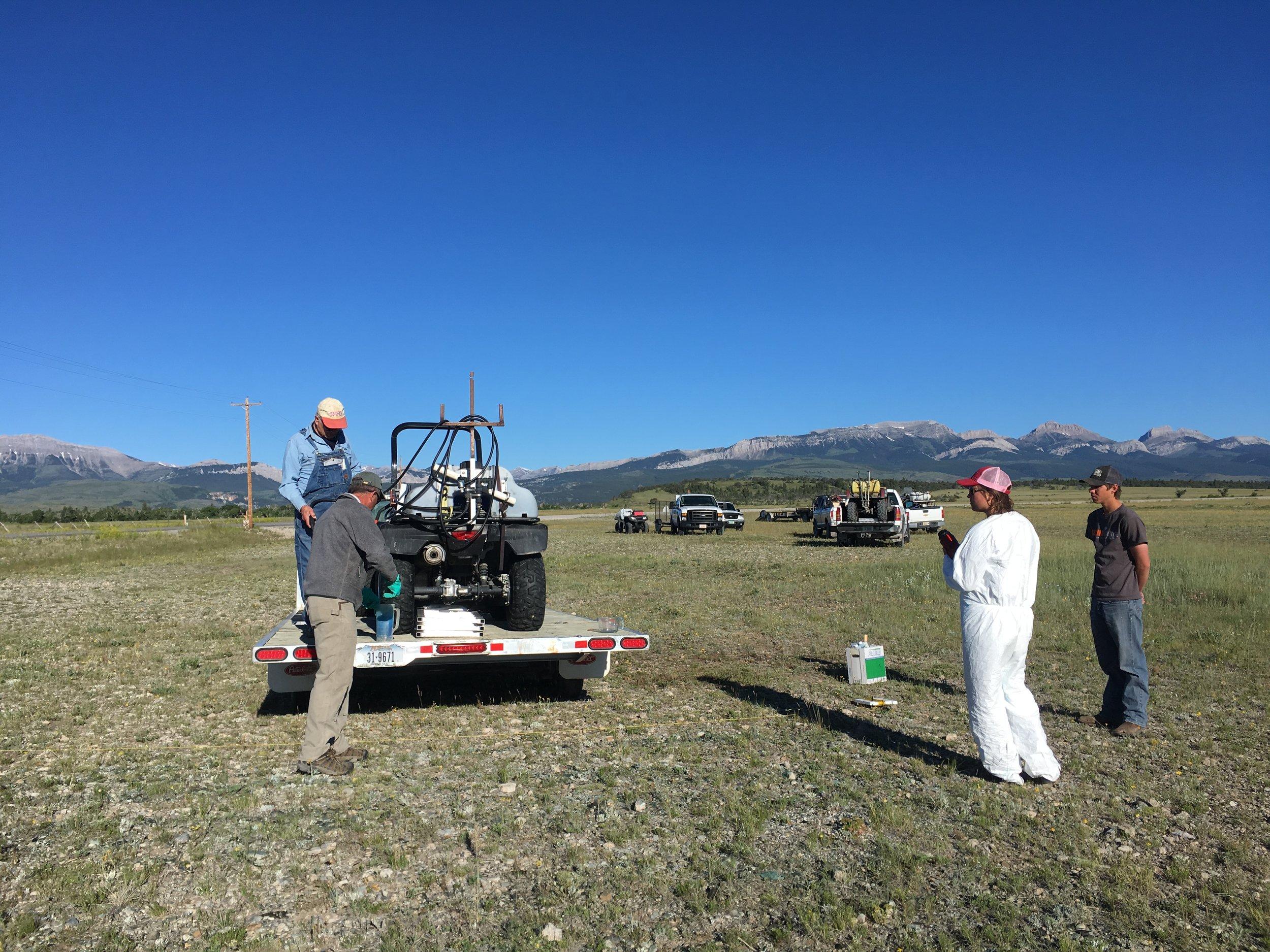 2017 Teton Spray Day - calibration