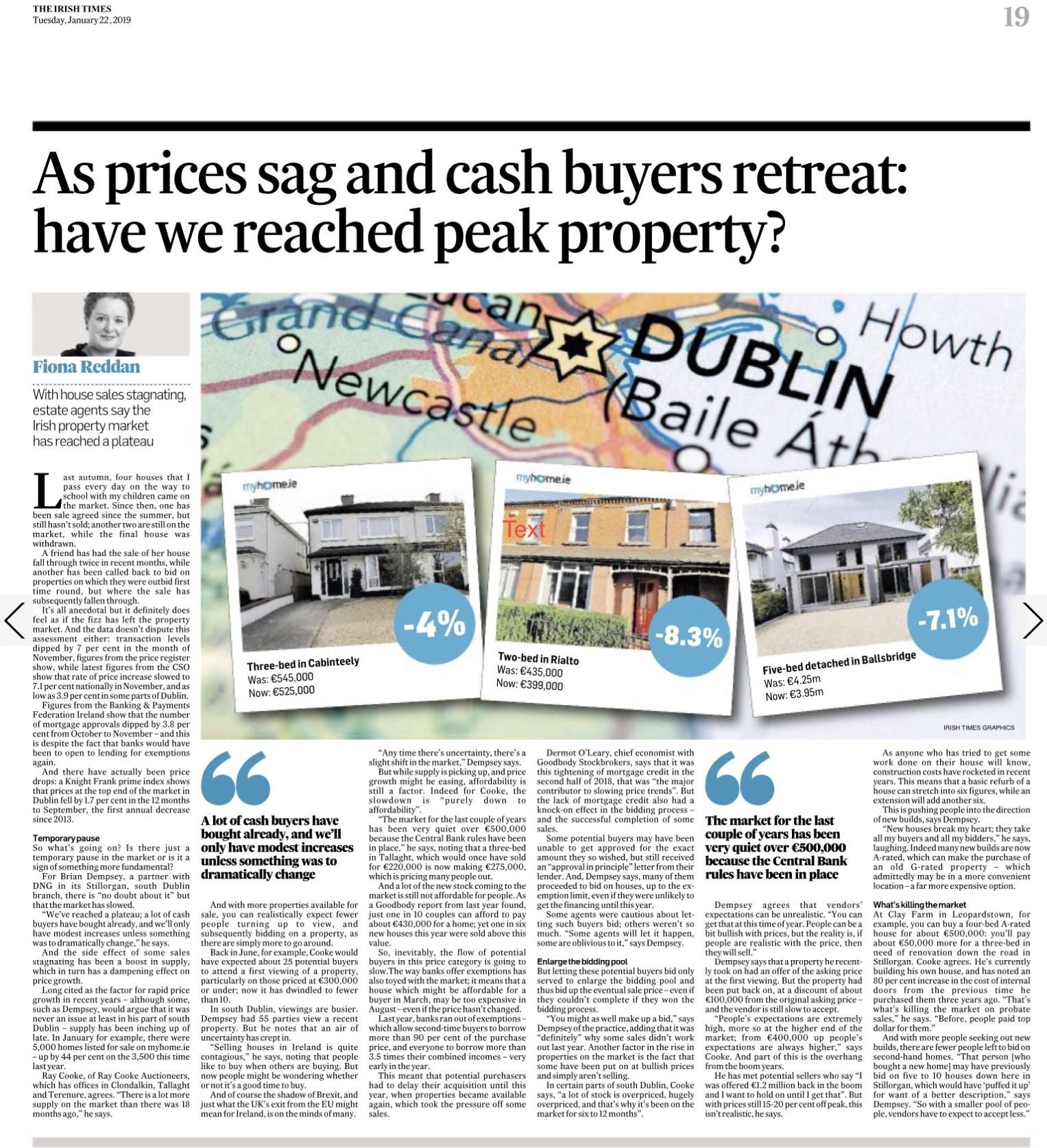 Irish Times - 2 Jan 2019 - Have we reached peak property.jpg