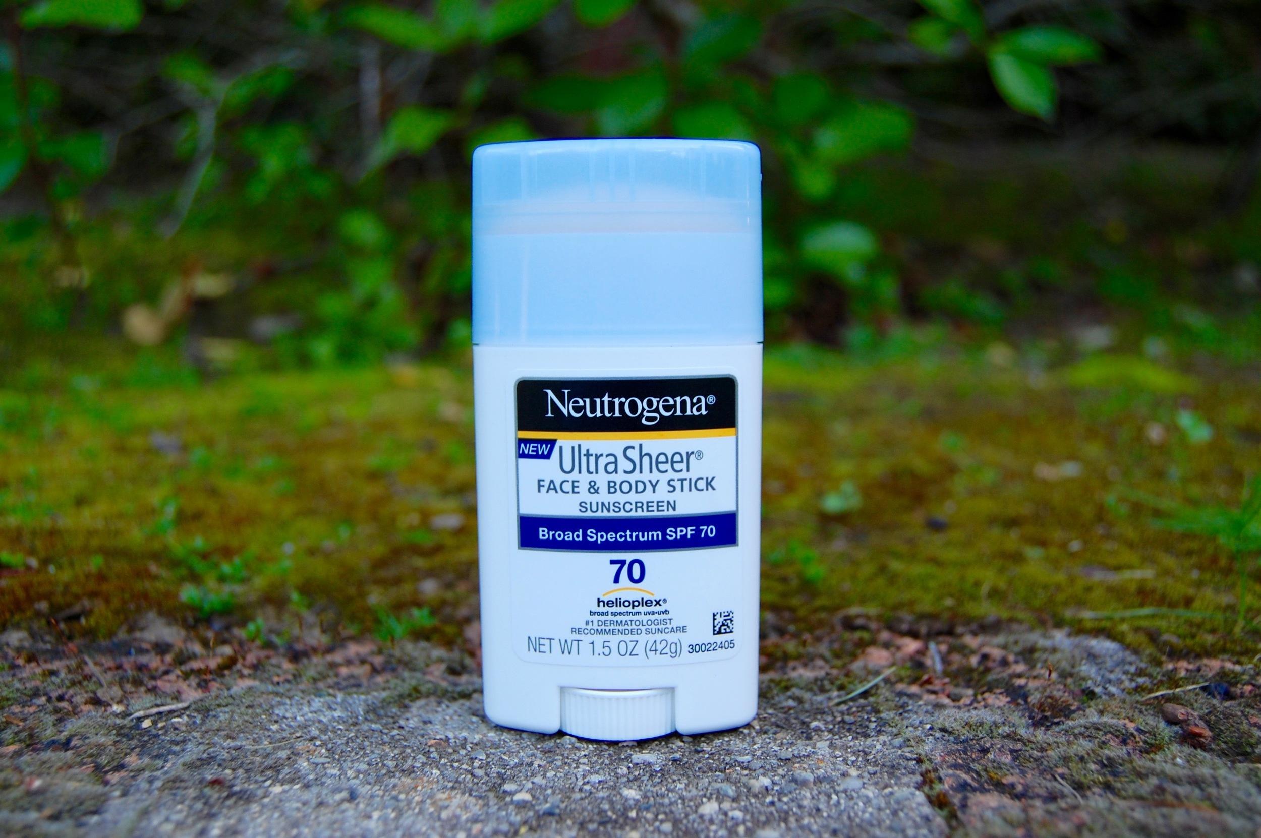 Neutrogena Sunscreen Ultra Sheer Face & Body Stick SPF 70