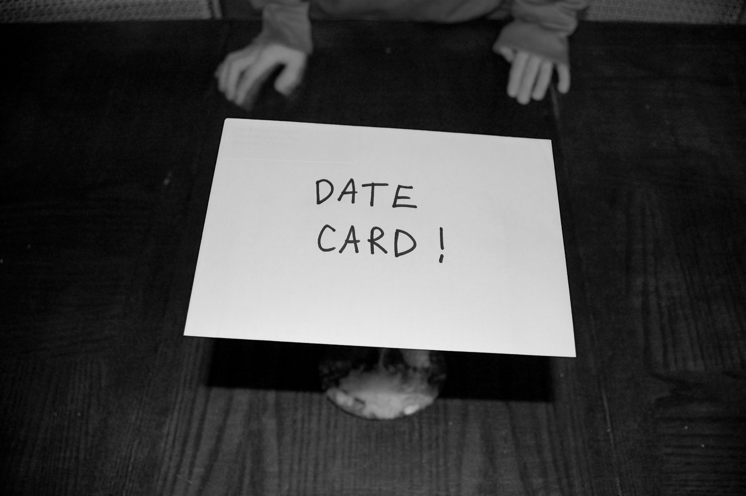 Date Card, Date Your Kids
