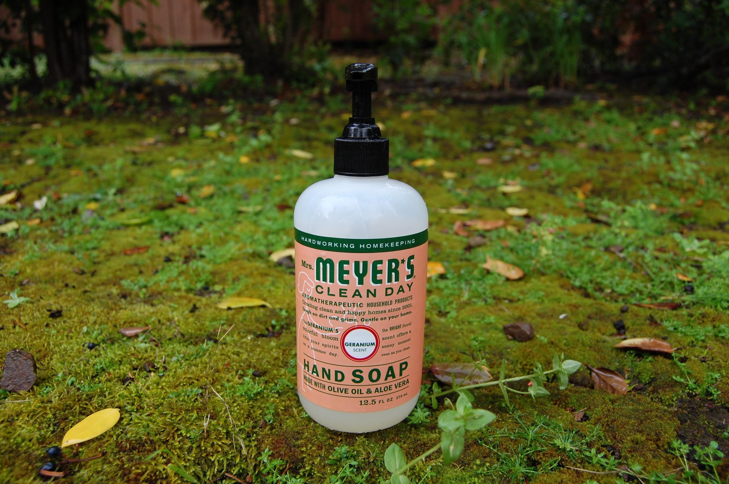 Mrs. Meyer's Clean Day Hand Soap, Geranium Scent