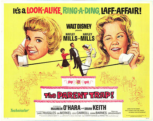 The Parent Trap was my favorite movie as a child, for understandable reasons. I knew Sharon and Susan understood the dynamics of my life.