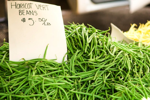 Haricots Verts, Green Beans