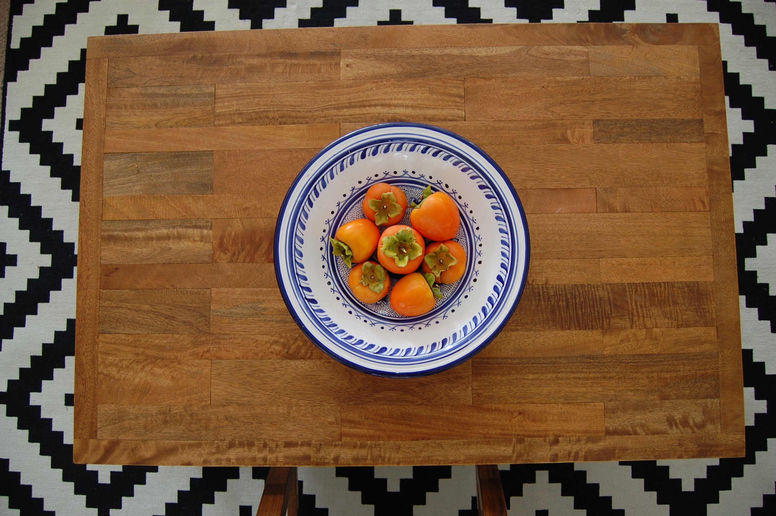 Bowl of Persimmons