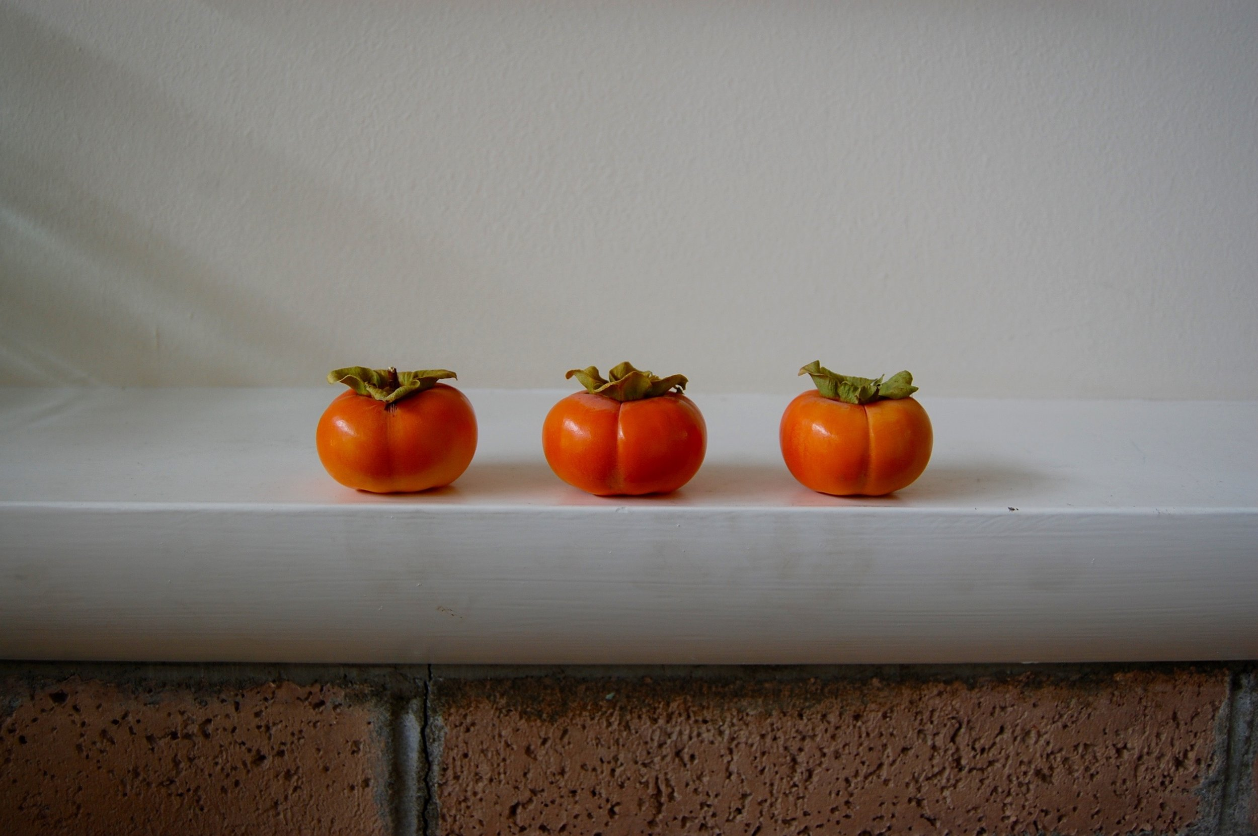Persimmons on Mantle