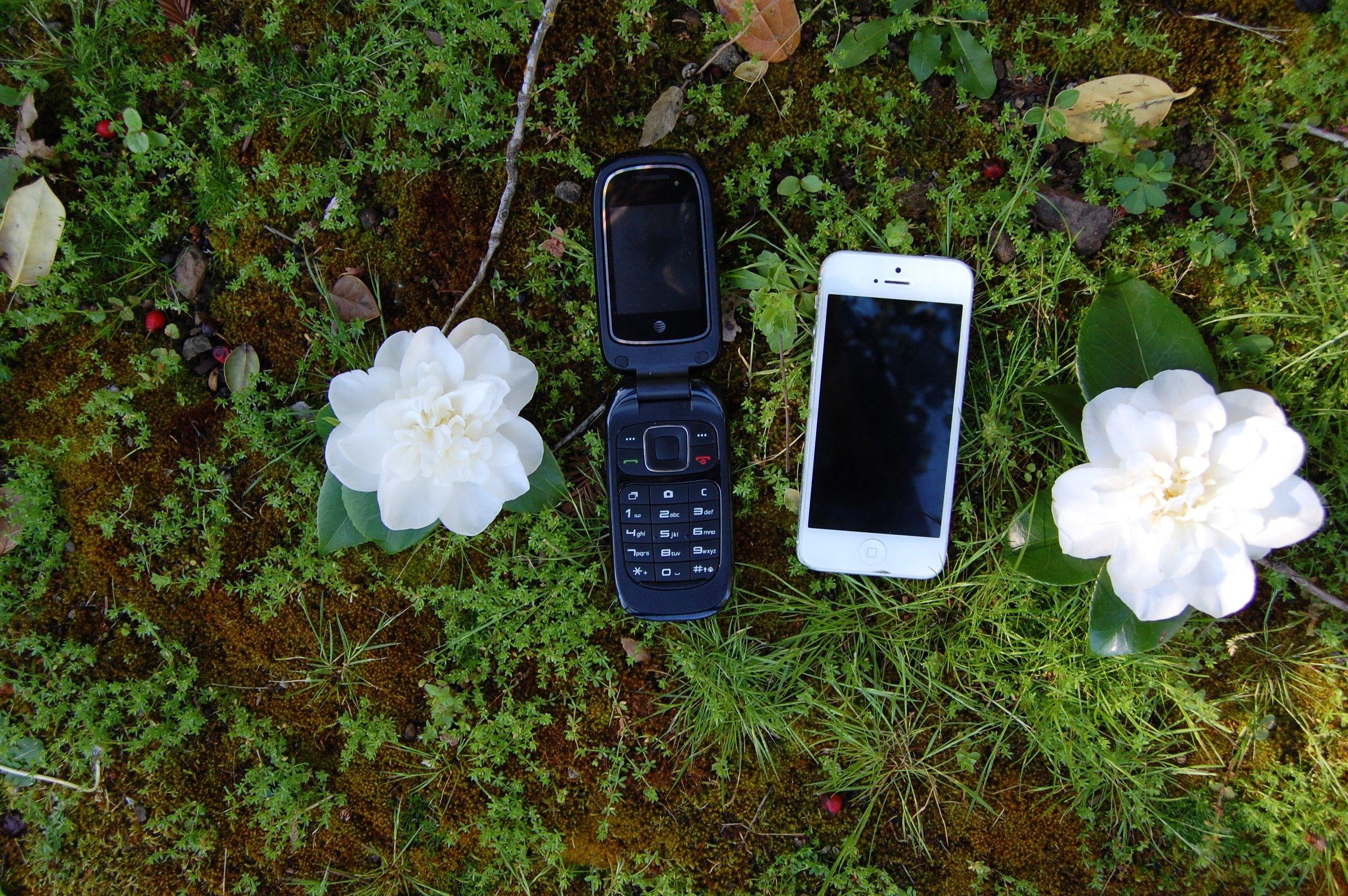 Flip Phone, GoPhone, iPhone 5