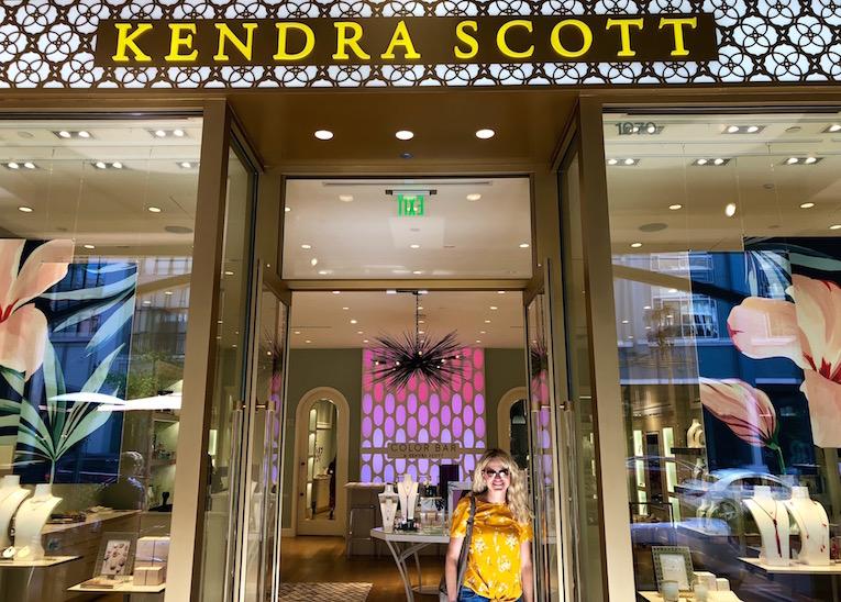 The  Kendra Scott  store at Santana Row.