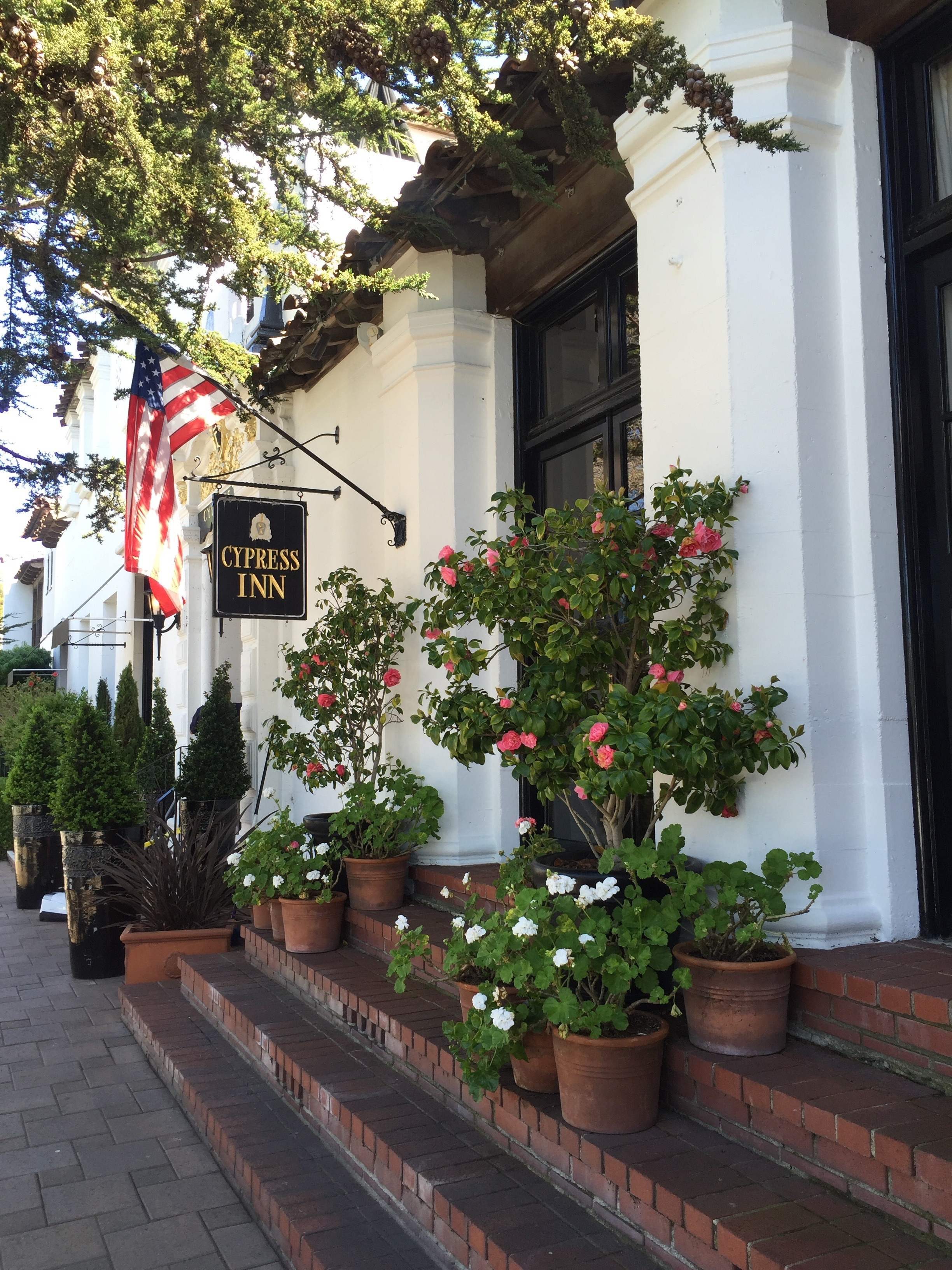 Cypress Inn - Owned by Doris Day. Thoroughly enjoyed our stay here. Courtyard style hotel, spacious room and dog friendly!