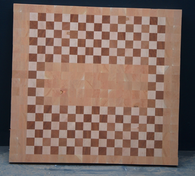 Cherry/Maple End Grain Countertop - 5213