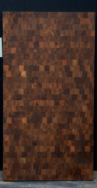 Teak End Grain Countertop - 5237