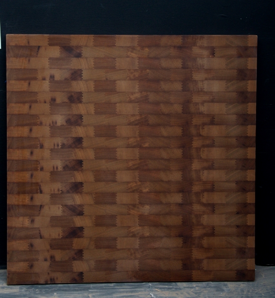 Teak End Grain Countertop - 5236