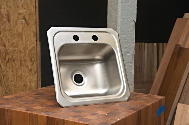 Stainless Steel Elkay Bar Sink - 5252
