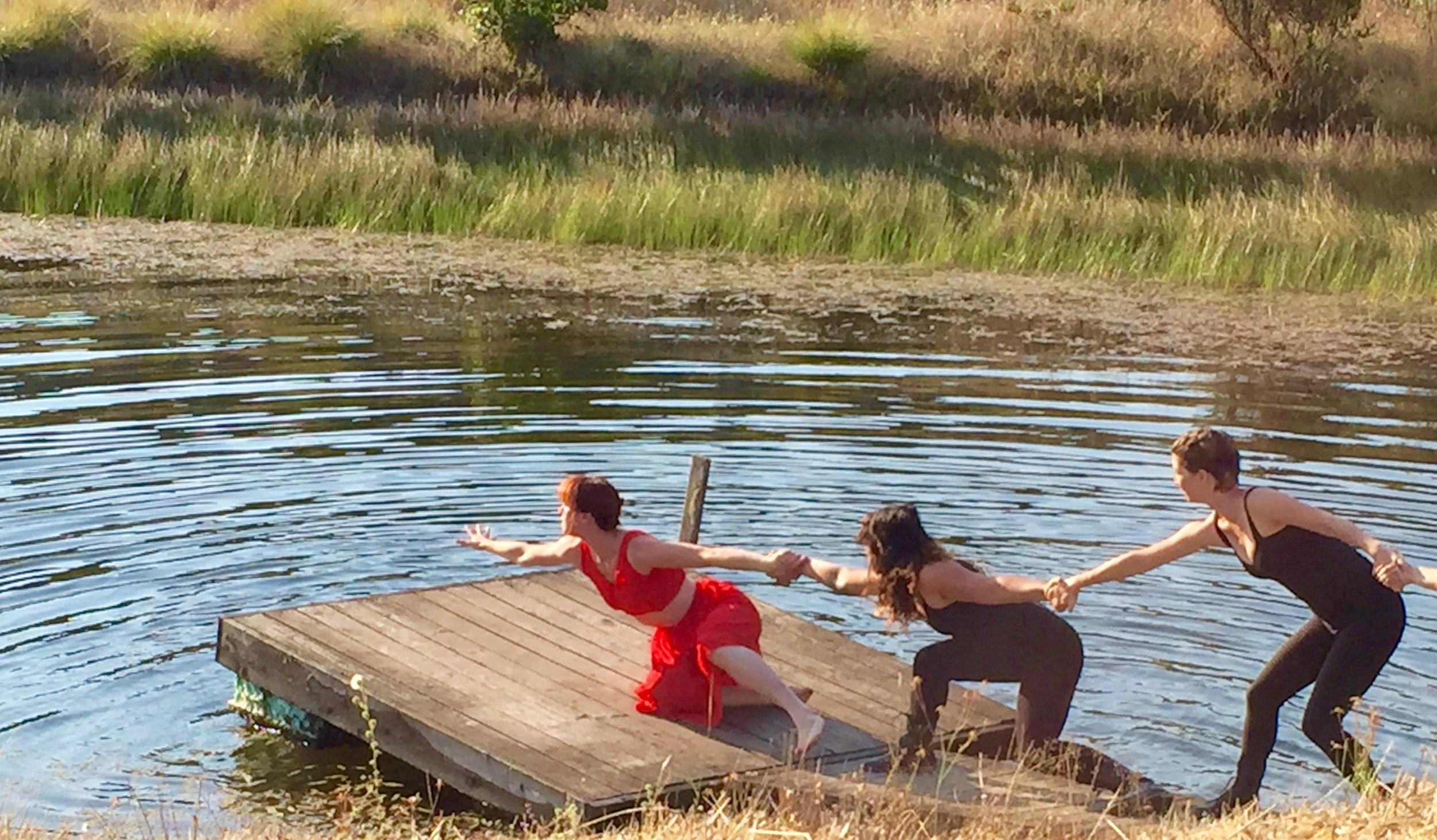 UPside Dance Company at Wildlands, August, 2016