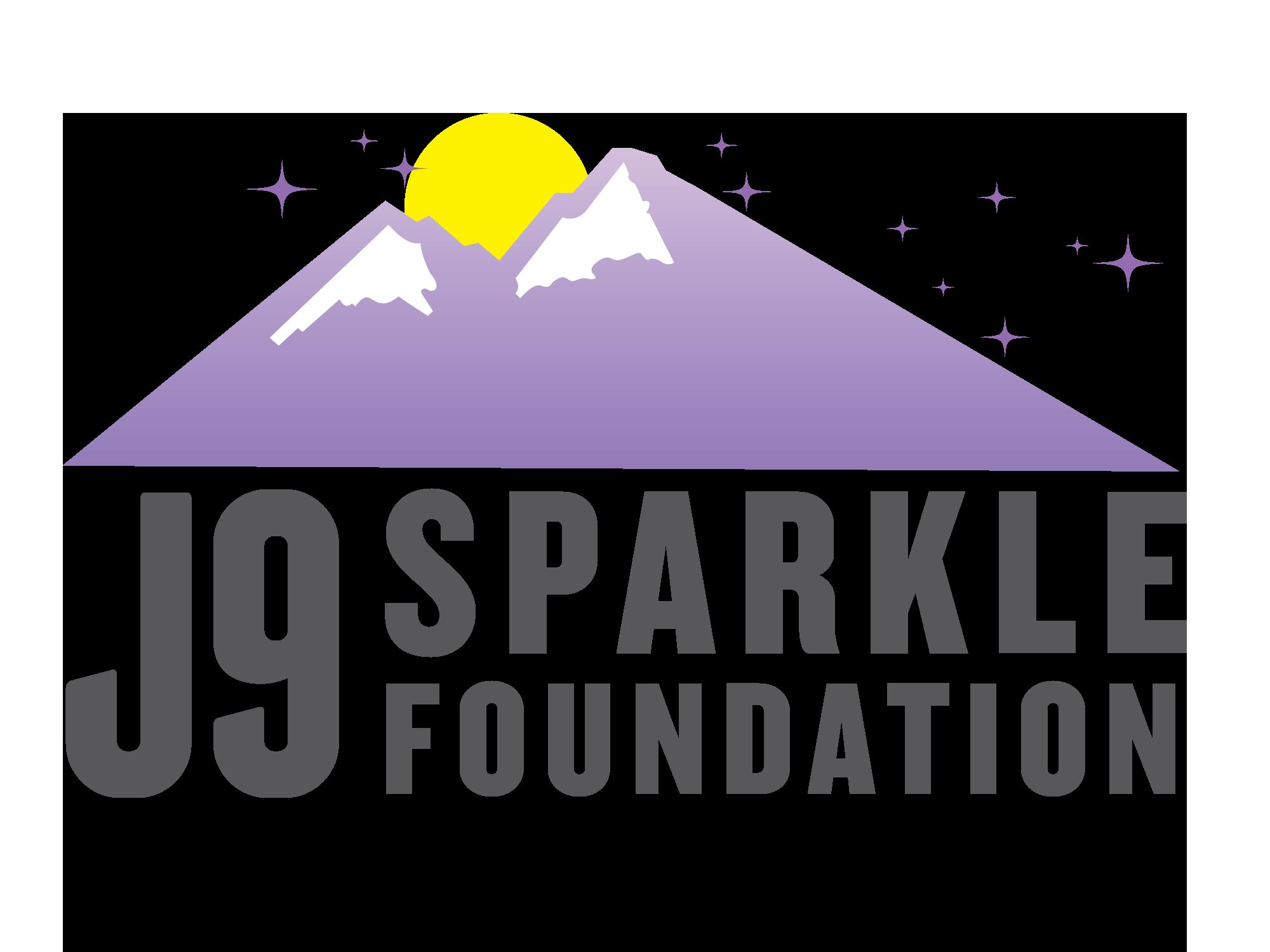 J9 SPARKLE FOUNDATION LOGO -