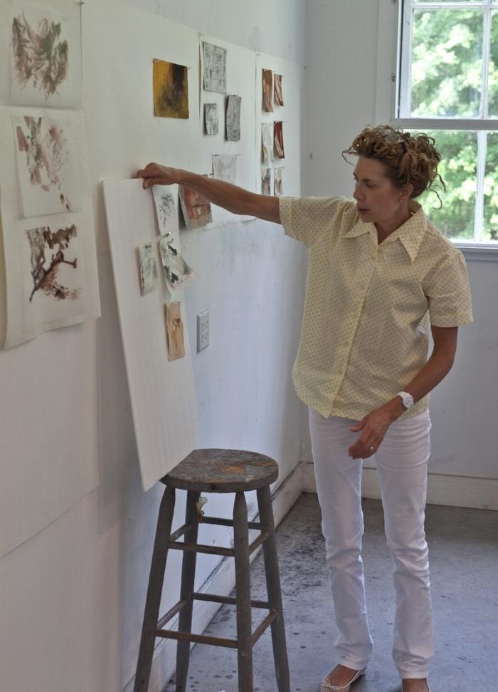 Meredith Rosier, Studio Two, Woodstock School of Art